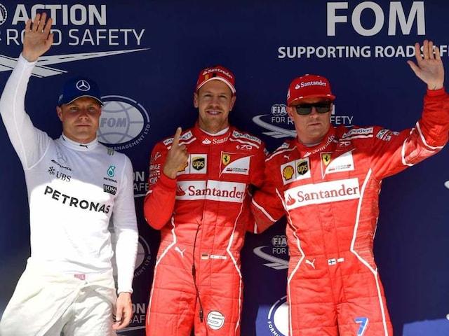 Ferraris Sebastian Vettel Takes Hungarian Grand Prix Pole
