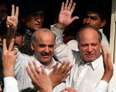 Pakistan's Ex-PM Nawaz Sharif Names Brother Shehbaz As Successor