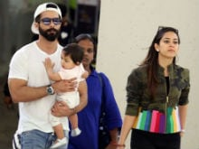What Shahid Kapoor, Mira Rajput And Baby Misha Are Doing In New York After IIFA