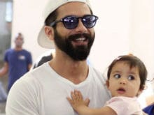 IIFA Awards 2017: Shahid Kapoor And Baby Misha's 'Sugar Rush' Moment In New York