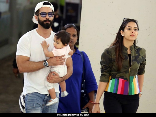 IIFA Awards 2017: Shahid Kapoor Reveals Plans For Baby Misha's First Birthday