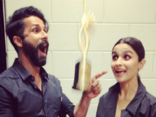 IIFA Awards 2017:  Shahid Kapoor And Alia Bhatt Are  Celebrating Their Win This  Way