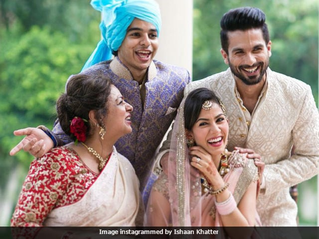 Happy Anniversary, Shahid Kapoor And Mira. We'll Just Look At This Cute Pic Posted By Brother Ishaan