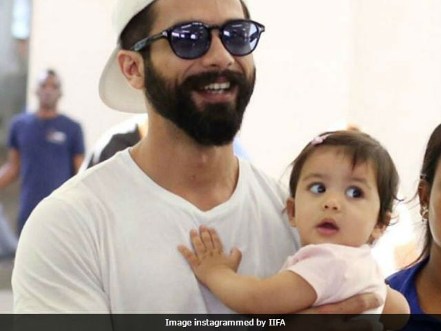 IIFA 2017: A New York Minute For Shahid Kapoor And Daughter Misha