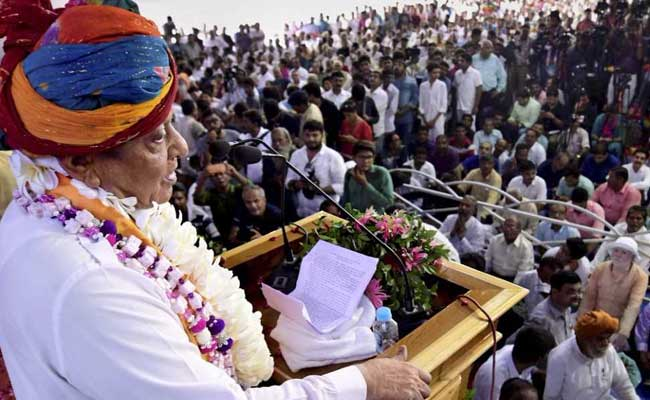 shankersinh vaghela at rally pti