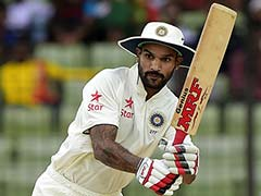 Shikhar Dhawan Replaces Injured Murali Vijay In India Squad For Sri Lanka Test Series