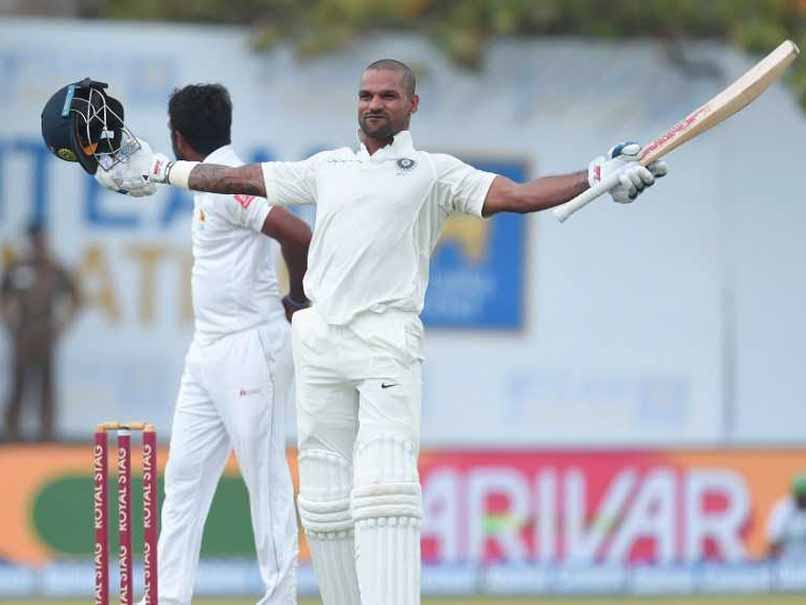 India vs Sri Lanka: Shikhar Dhawan Smashes Century, Stakes Claim To Cement Test Spot