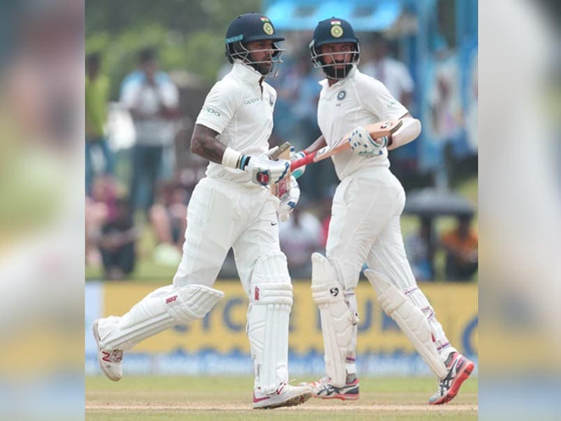 India Vs Sri Lanka: Shikhar Dhawan, Cheteshwar Pujara Power India To 399/3 On Day One