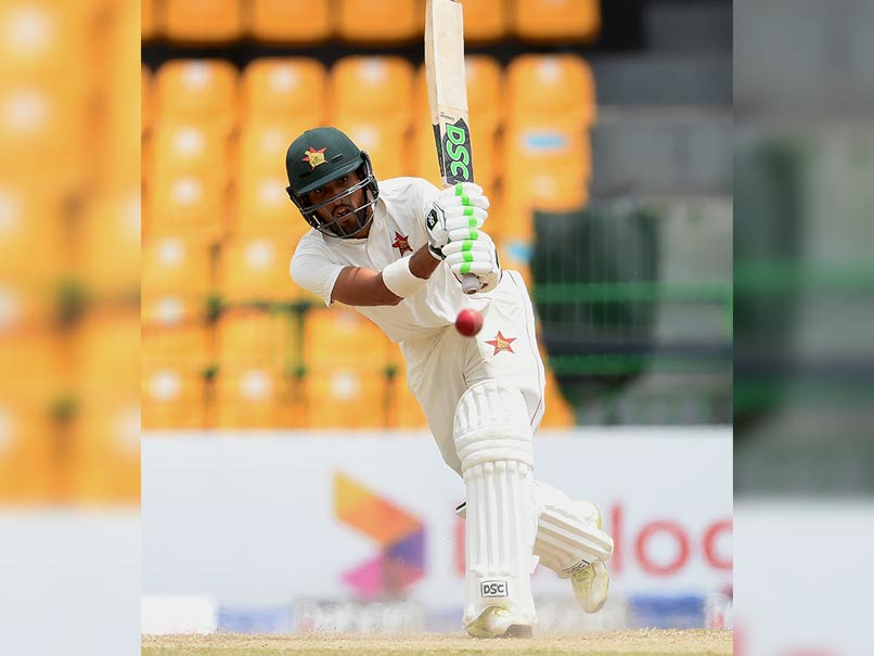 Sikandar Raza's 97 Not Out Puts Zimbabwe On Top Vs Sri Lanka