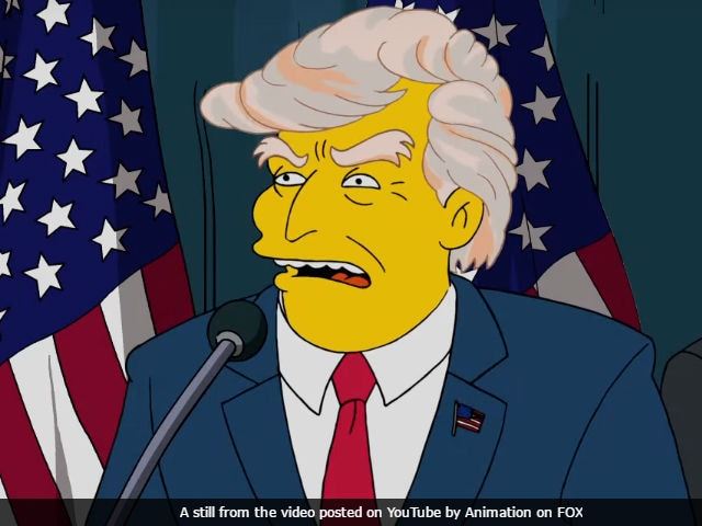 When The Simpsons Rejected Donald Trump