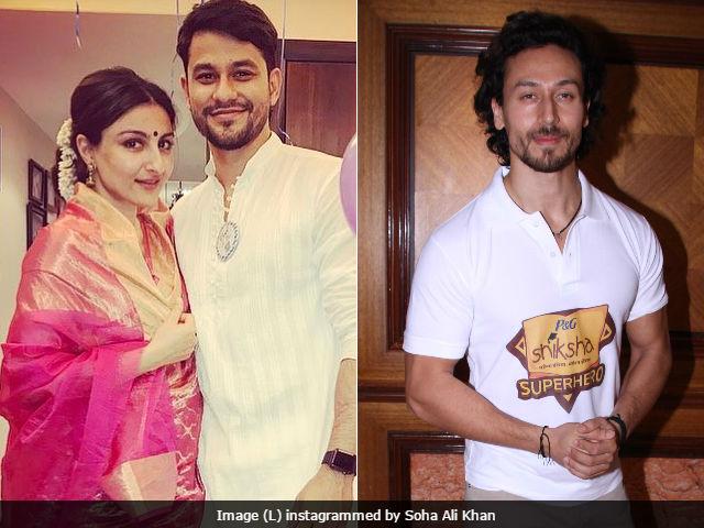 'Nothing Wrong With Soha Ali Khan Wearing A Sari,' Says Tiger Shroff