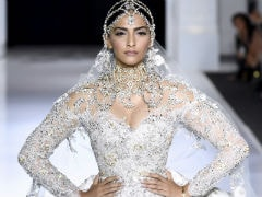 Paris Fashion Week: Sonam Kapoor Is Spectacular Showstopper In Bridal White