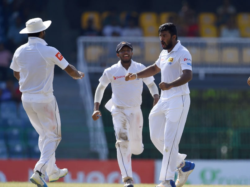 Uncapped Spinner Malinda Pushpakumara Named In Sri Lanka's Test Squad