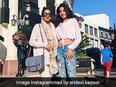 बेटी जाह्नवी के साथ यूं मस्ती भरे पल बिता रही हैं श्रीदेवी, देखें वेकेशन PHOTOS