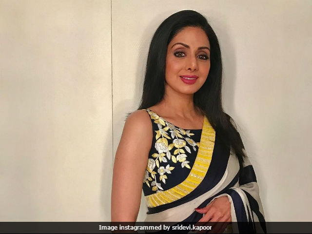Sridevi Says She Has 'Never Felt Like A Star'