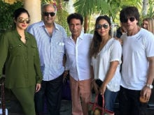 <i>Jab</i> Shah Rukh Khan And Gauri Met Sridevi On Holiday In Los Angeles. See Pic