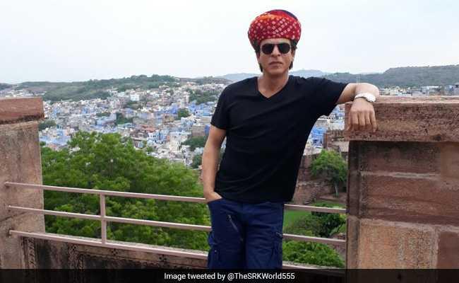 शाहरुख खान जोधपुर गए फिल्म का प्रमोशन करने, इन्होंने बना दिया टूरिस्ट गाइड
