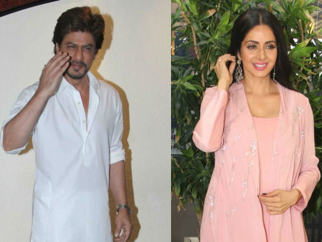 Jab Shah Rukh Khan And Gauri Met Sridevi On Holiday In Los Angeles. See Pic
