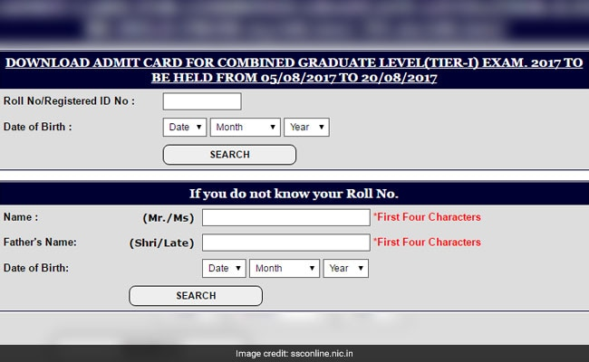 Ssc Cgl Admit Card: SSC CGL 2017 Admit Card Released; Know How To Download