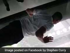 He Did 3 Push-Ups On Glass Floor 37 Storeys High. Video Is Dizzying