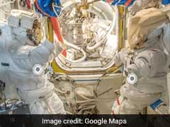 Google Street View's Latest Destination: The International Space Station