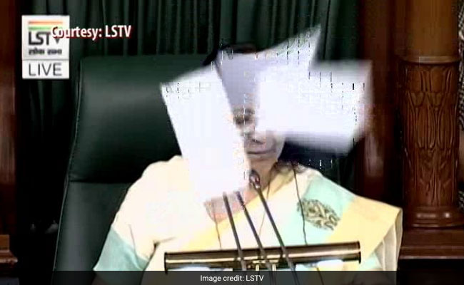 Let Whole Country Watch This, Says Speaker, Suspends 6 Congress MPs