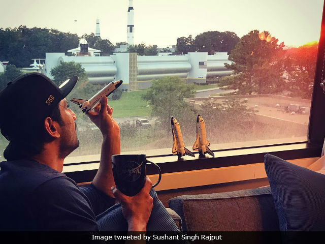 'Sushant In Space' Trends As Sushant Singh Rajput Reaches NASA