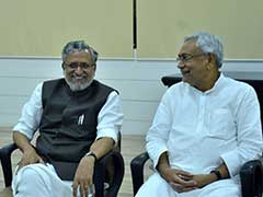 Nitish Kumar Stakes Claim To Form Government With BJP, Oath At 10 AM