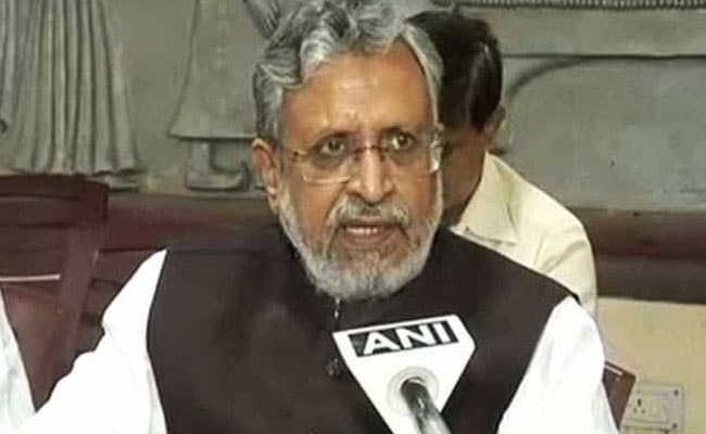 BJP's Sushil Modi Dodges Question On Child Deaths In Bihar