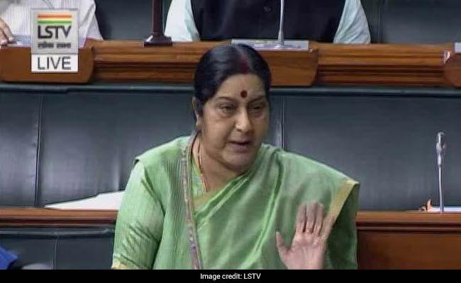 विदेश मंत्री सुषमा स्वराज के खिलाफ आज राज्यसभा में विशेषाधिकार प्रस्ताव लाएगा विपक्ष...