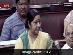 Can't Stop Search For 39 Missing Indians Because Of Some Sources: Sushma Swaraj In Rajya Sabha