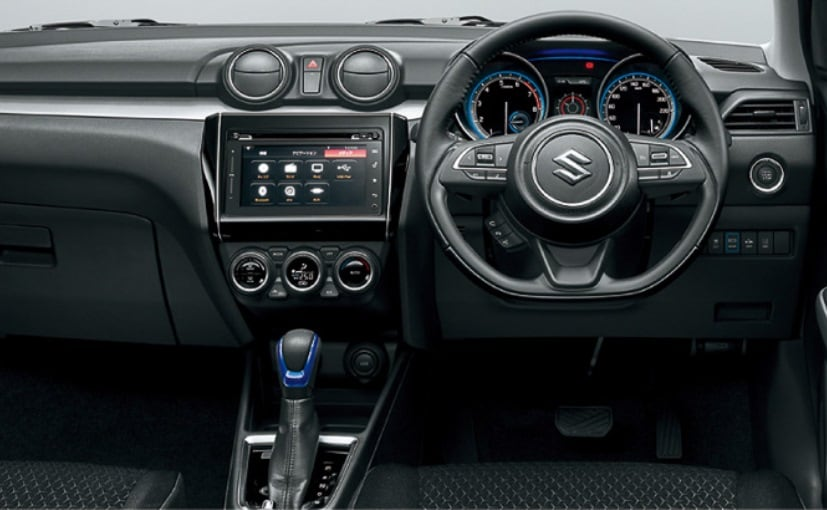 suzuki swift hybrid interior