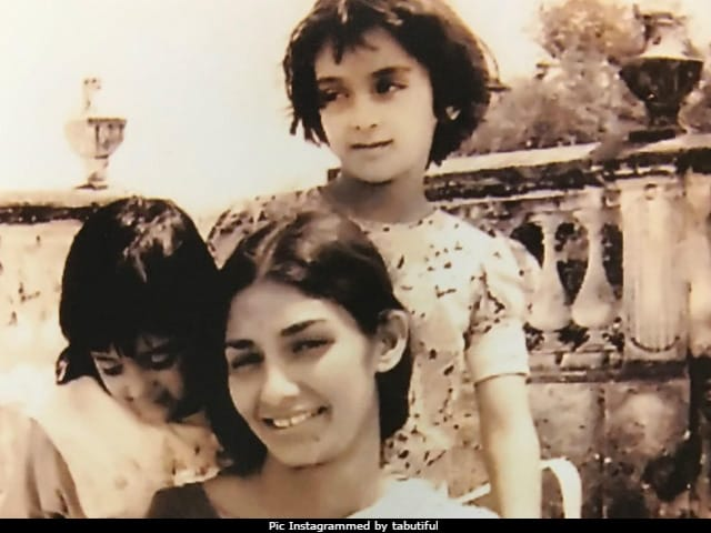 Tabu Looks Like Her Mom. We Know Because Of This Old Pic