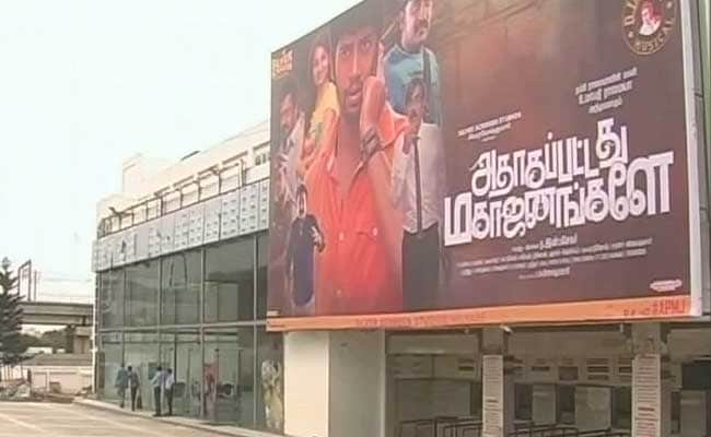 1,000 Cinema Halls Cancel Screenings In Tamil Nadu Against 30% Local Tax