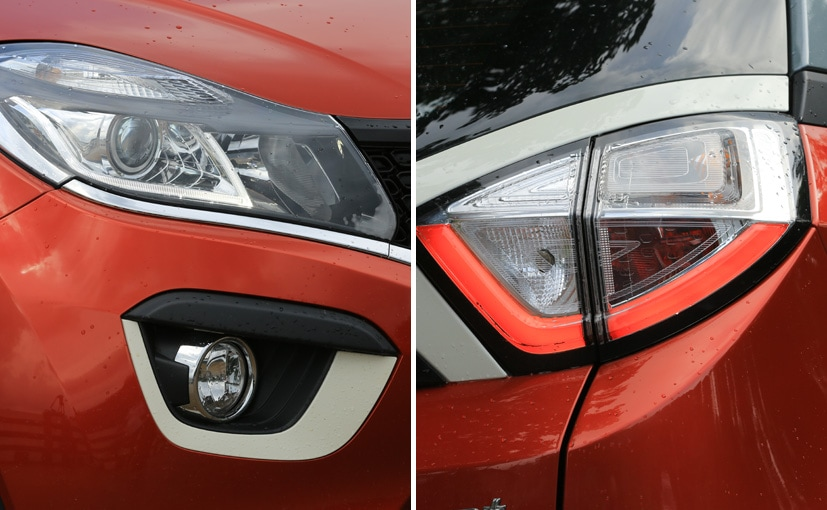 tata nexon headlight and tail light