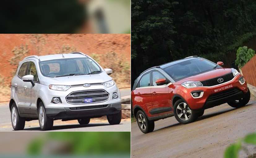 Specifications Comparison Tata Nexon Vs Ford EcoSport