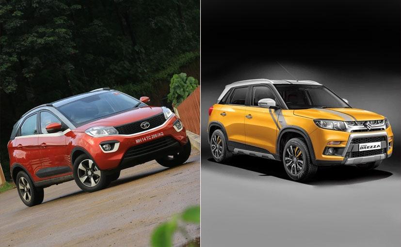 Tata Nexon vs Maruti Suzuki Vitara Brezza: Spec Comparison