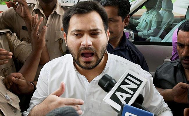 Let Nitish Kumar, BJP Explain: Tejashwi Yadav's Take On Data Breach
