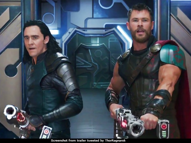 ragnarok trailer well loki is team thor now twitter is floored