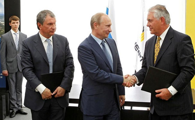 Exxon Sues US Over Fine Levied For Russia Deal Under Rex Tillerson