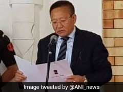 TR Zeliang Sworn-In As Nagaland Chief Minister, Will Prove Majority By July 21