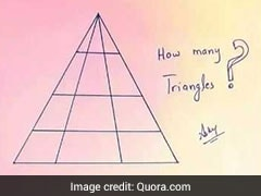 How Many Triangles Do You See? This Quiz Is Currently Baffling Internet