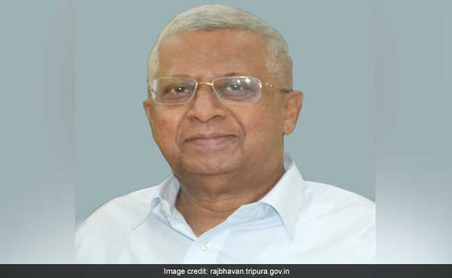 Trinamool Protest Against Tripura Governor For Backing Bengal Counterpart