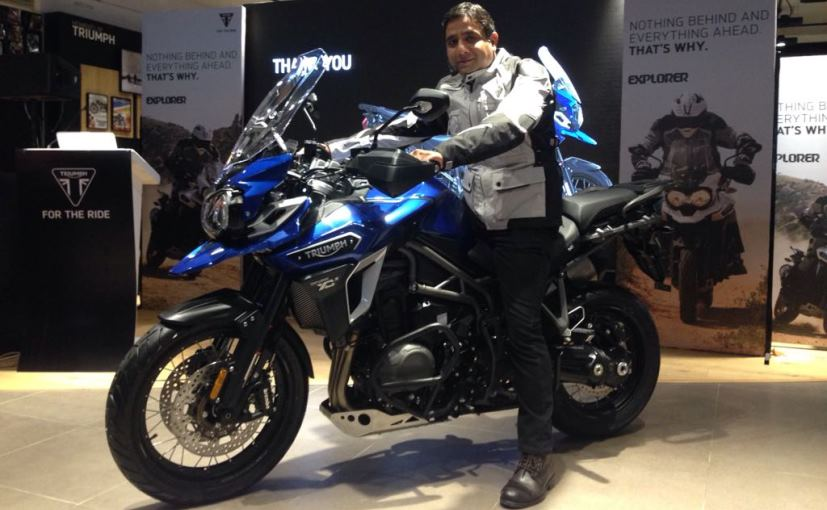 2017 Triumph Tiger Explorer Xcx Launched In India Priced At Rs