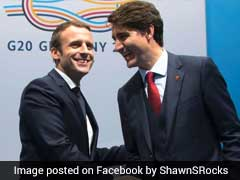Justin Trudeau, Emmanuel Macron's Bromance Has The Internet Thrilled