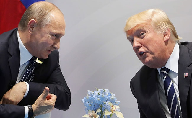Vladimir Putin Says Donald Trump 'Very Different' In Real Life