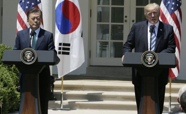 Donald Trump Calls For Firm Response To North Korea, Targets Seoul On Trade