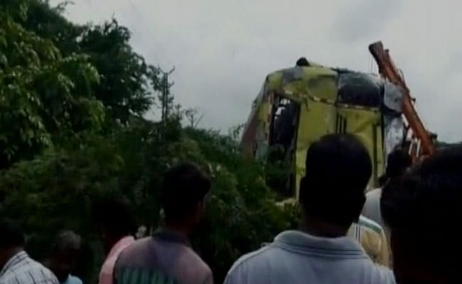 9 Killed As Bus Carrying Pilgrims Overturns Near Udaipur