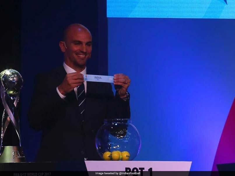 Under-17 World Cup: India Drawn With Ghana, USA and Colombia