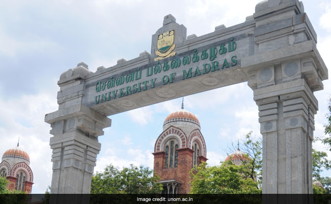 Madras University Results 2017: UG, PG, professional degree declaration at unom